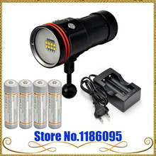 ARCHON D36V W42V 5200lm Underwater Photographing Video Light Diving Flashlight Torch +battery+CHG+Archon Box