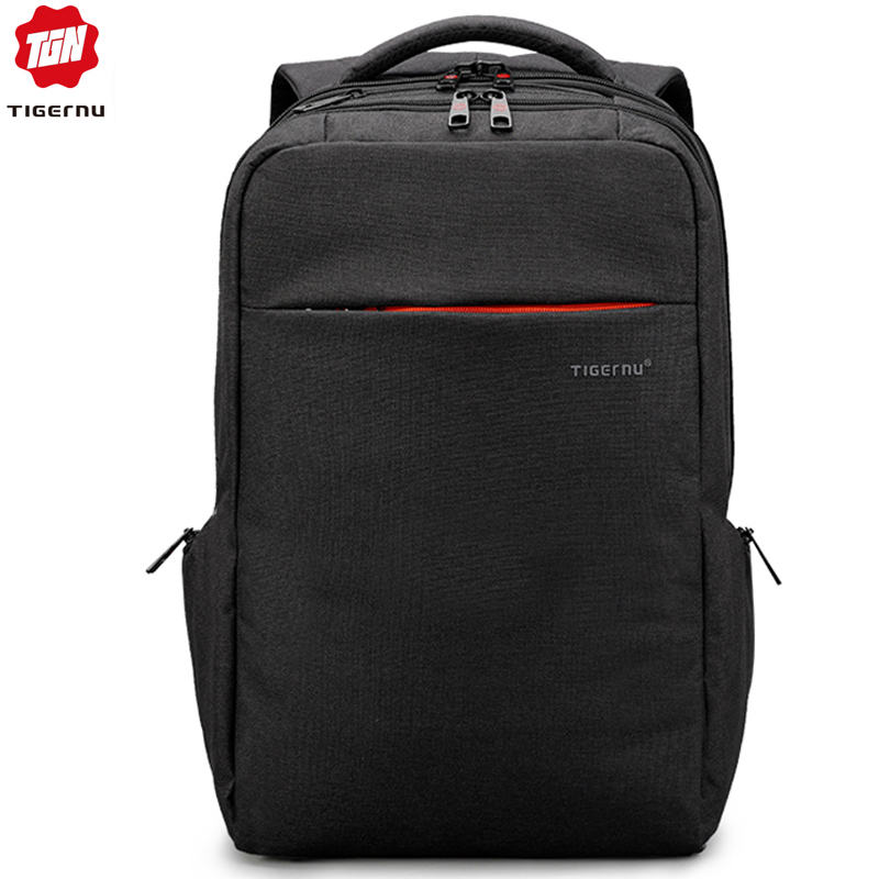 Tigernu Brand Fashion Business Backpack for Men Travel Notebook Laptop Bag 15 6 inch Anti theft