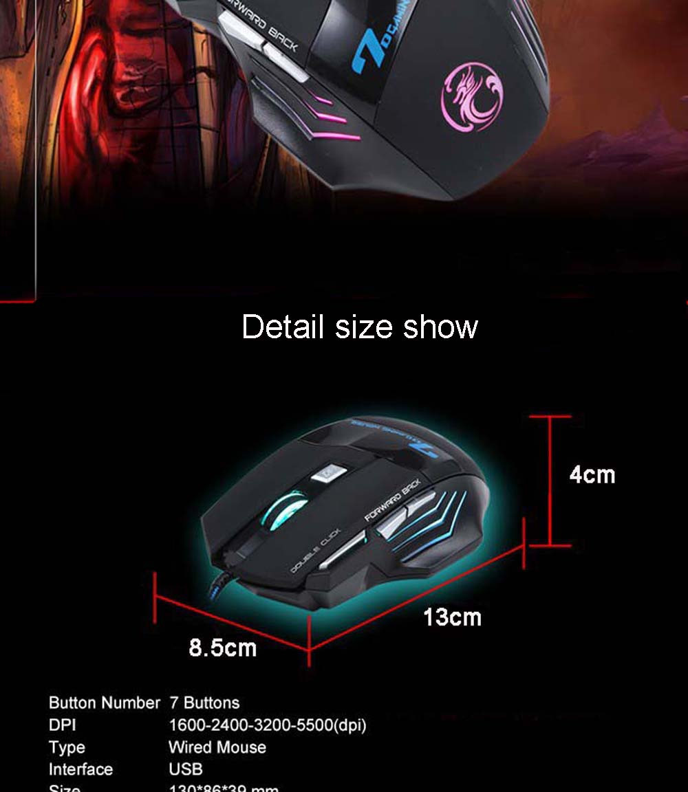 mouse + alta fidelidade pro gaming fone