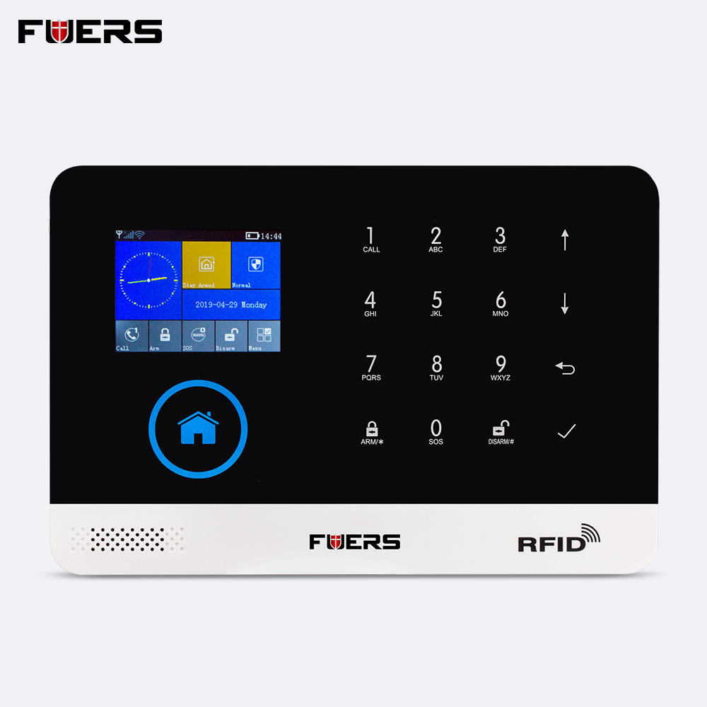 FUERS PG103 WiFi GSM Wireless Burglar Smart Home Security Alarm System RFID Anti Theft System Support 9 language APP Control