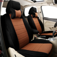 цена на Car Believe leather car seat cover For peugeot 206 407 508 308 301 3008 2017 205 307 207 car accessories seat protector