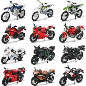 Maisto modelo de motocicleta ninja h2r cbr600rr YZF-R1, brinquedos para crianças, motocicleta de corrida