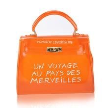 Clear Transparent PVC Women Shoulder Bag Candy Color Jelly Bags Purse Solid Color Handbags Sac A Main Femme Crossbody Bag Women цены