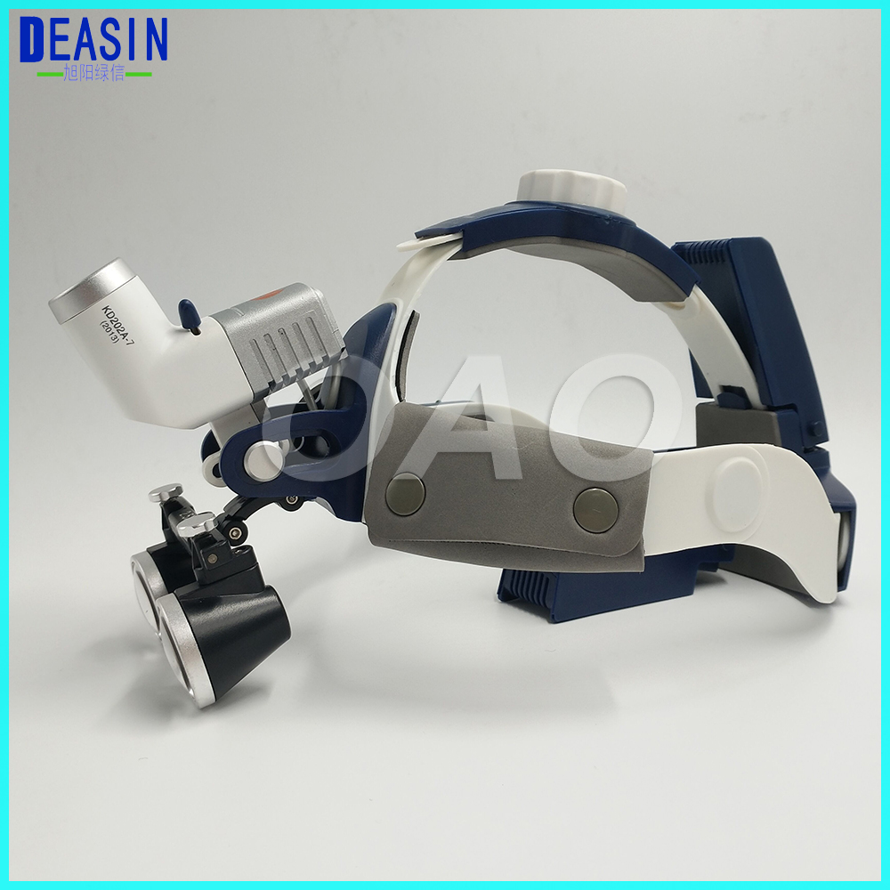 Hot Sale Good Quality 5W LED Surgical Head Light dental Lamp All-in-Ones Headlight with loupes 2.5X , 3.5 Dental Loupes hot sale 2 5x medical magnifier all in ones operation lamp surgical headlight and dental loupes