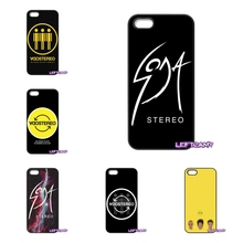 SODA STEREO Band Logo Hard Phone Case Cover For Samsung Galaxy Note 2 3 4 5 8 S2 S3 S4 S5 MINI S6 S7 edge Active S8 Plus
