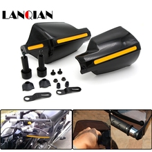Motorcycle Wind Shield Lever Hand Brake Guard For Kawasaki Ninja 1000 1000R 250 250R 300 300R 400R 650 with Hollow Handle Bar цена и фото