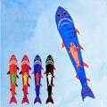 O envio gratuito de alta qualidade grande linha de pipa tubarão voando brinquedo ao ar livre tecido de nylon pipa pássaro rainbow roda pipa albatroz frelin