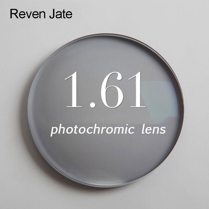1.61 photochromic เลนส์สายตาเดียวสีเทาหรือสีน้ำตาล SPH ช่วง -6.00 ~ + 5.50 Max CLY -4.00 เลนส์สายตาสำหรับแว่นตา