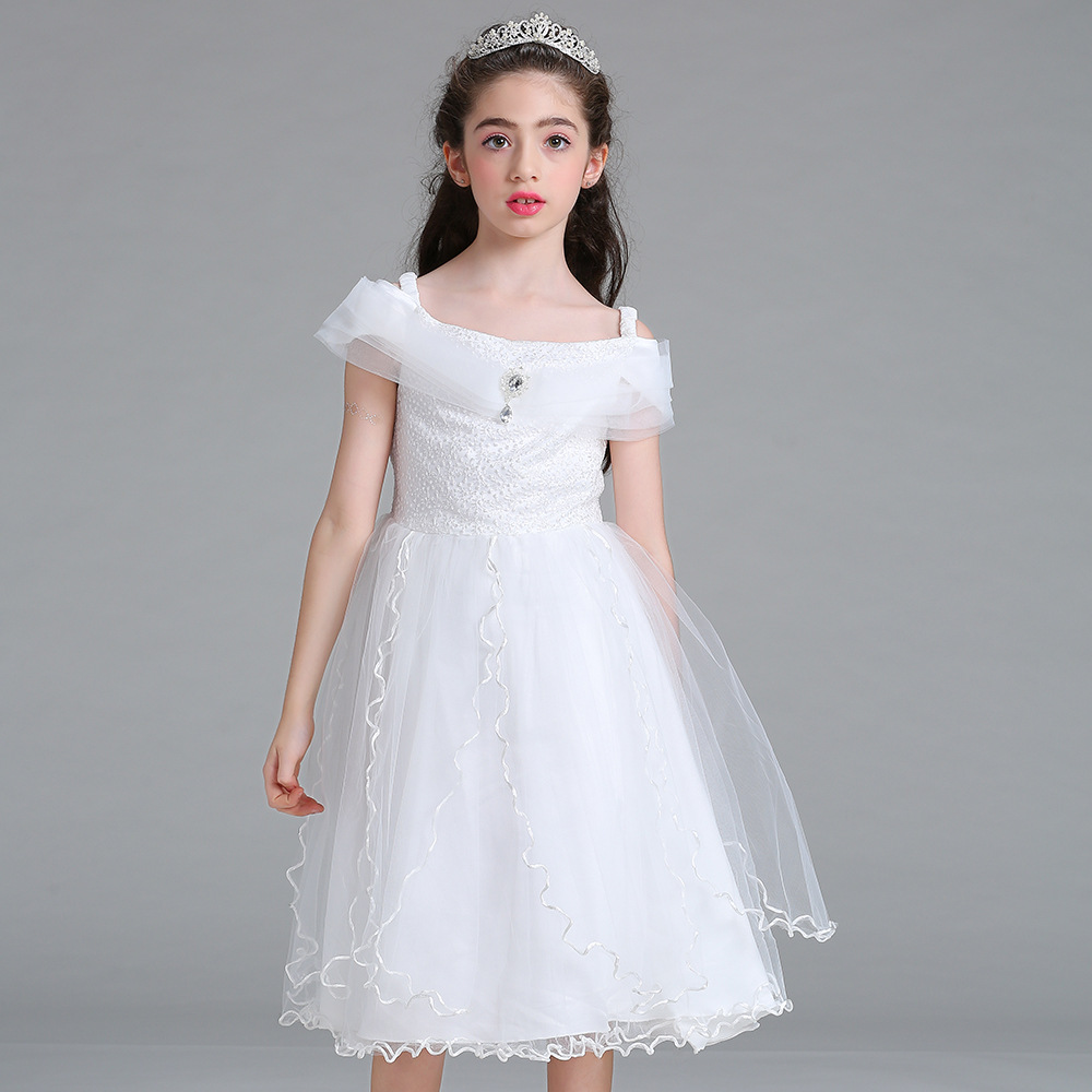 10 12 14 girls flower teenage bridesmaid wedding princess