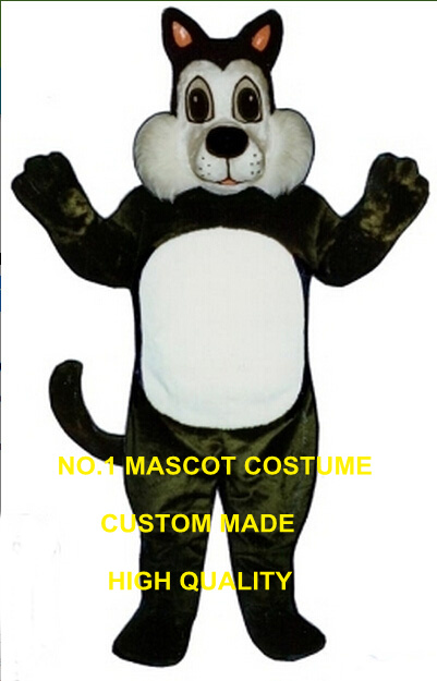 Black Comic Cat mascot costume wholesale adult size cartoon Comic Cat theme anime cosplay costumes carnival fancy dress 2673
