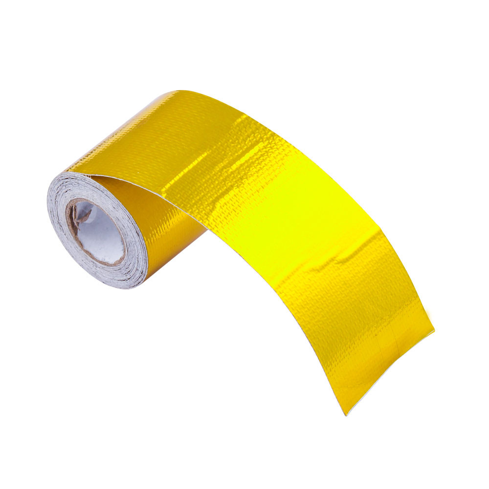 5M Car Auto Motorcycle Refit Thermal Insulation Band Engine Exhaust Pipe Heat Intake Wrap Roll Shield Protection Decorative CB(China)