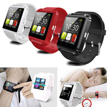 1pcs Fashion U8 Bluetooth Smart Watch For Samsung S4/Note2/3 for HTC for LG for Xiao mi Android Phone Smartphones u8 smart bluetooth wrist watch 3 colors fashion men women watch u watch for android samsung s4 note2 3 htc lg sony