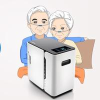 Oxygen Concentrator With Remote Control