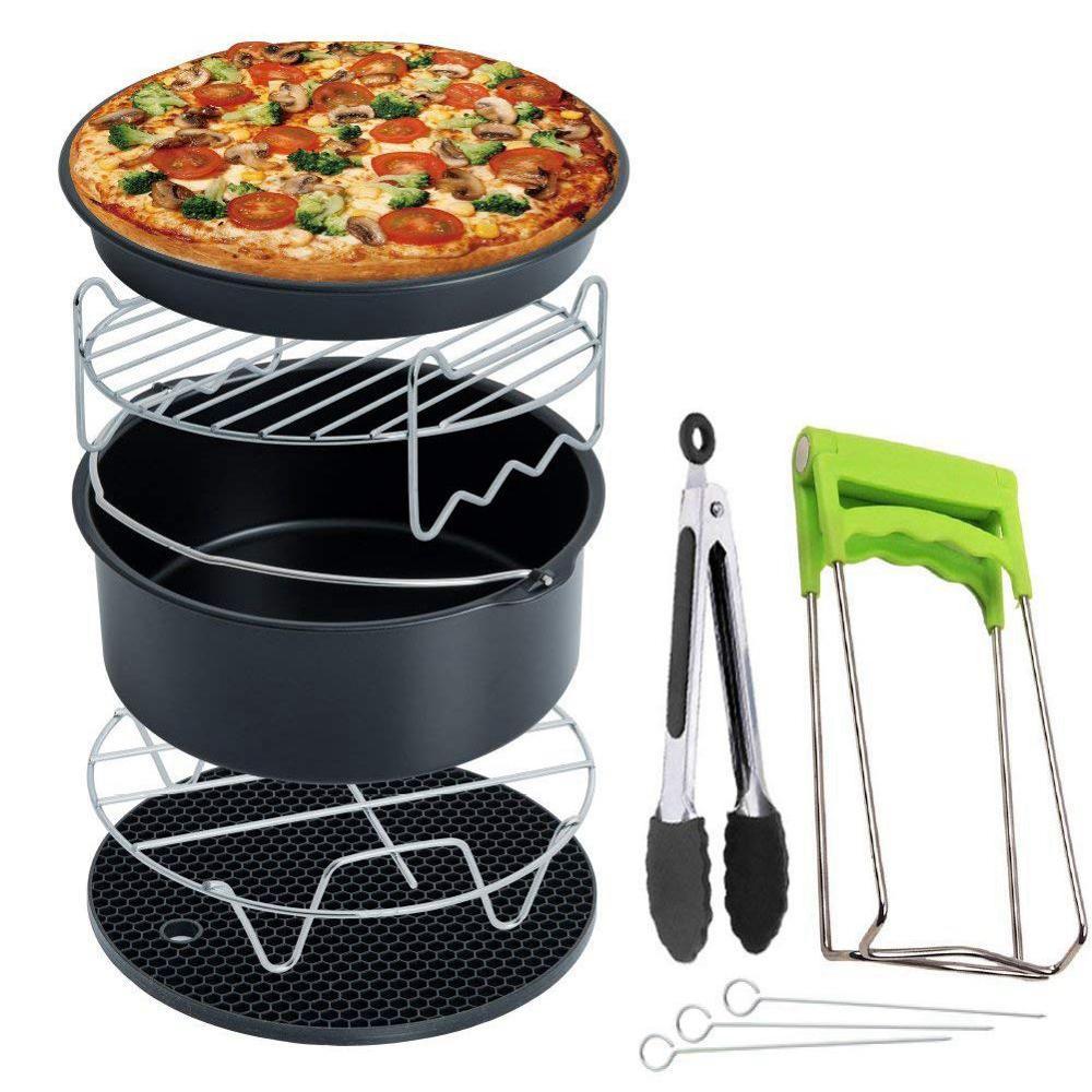 Accessoires de friteuse à Air de haute qualité 7 pouces pour friteuse à Air 5.8 qt, 7 pièces/ensemble, convient à la friteuse à Air 3.5QT à 5.8QT