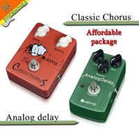 ペダルパッケージ販売常陽 JF-05 クラシックコーラス & JF-33 アナログ遅延ギターエフェクトペダルパッケージトゥルーバイパス送料無料