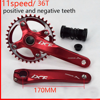 iXF BIKE bicycle Crank Crankset chain wheel with BB crank 170 HollowTech bicycle parts