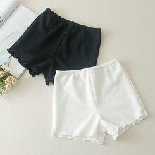 Женское летнее нижнее белье, белые, черные брюки с подкладкой, слипы