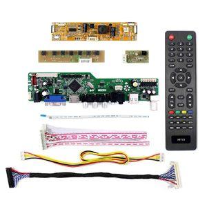 "Image 2 - HDMI TV LCD плата контроллера для 23 ""LM230WF5 TLC1 LM230WF5 TLB1 1920x1080 для 23 дюймов ЖК экран USB поддержка видео M230WF5 TLA1"