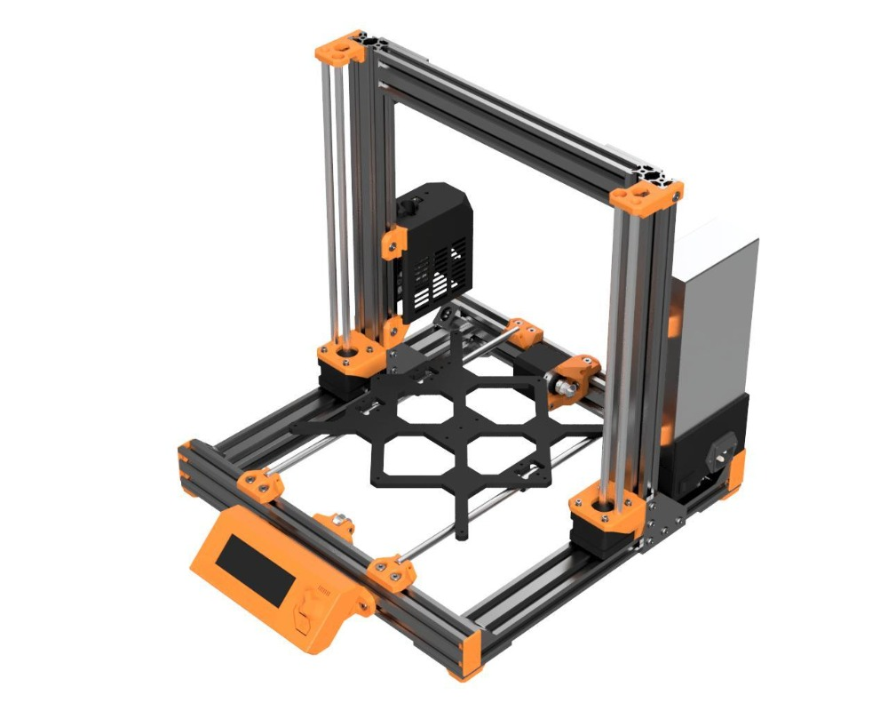 Prusa i3 MK3 Bear Upgrade,2040 V-SLOT aluminum extrusions mk2 bear aluminum extrusions kit 1set aluminium alloy prusa i3 mk3 frame kit with m5 tapped extrusions 6mm thickness