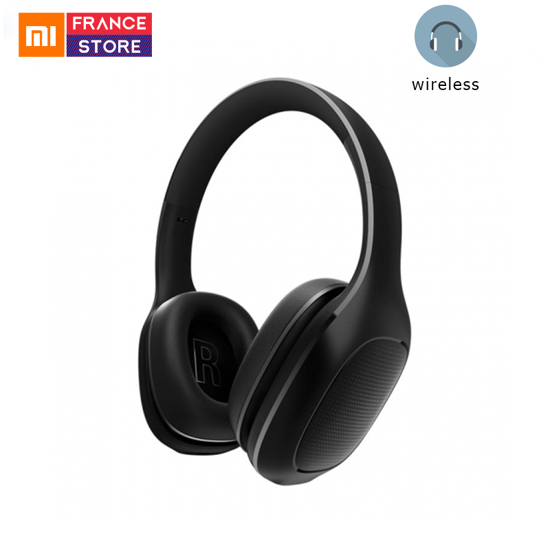 Original Xiaomi Bluetooth Headset With Two Active Noise Cancelling Microphone Wireless Fashion Headphones For Phones Samsung