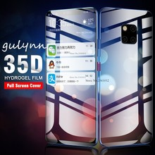 35D Front Screen Protector Hydrogel Film On For Huawei Mate P30 P 20 10 Pro Lite Back Protective Honor 9 i 8X 8A