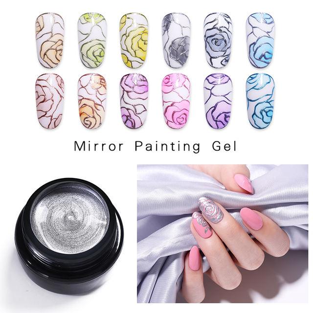 LILYCUTE 5ml Metallic Mirror Gel Polish