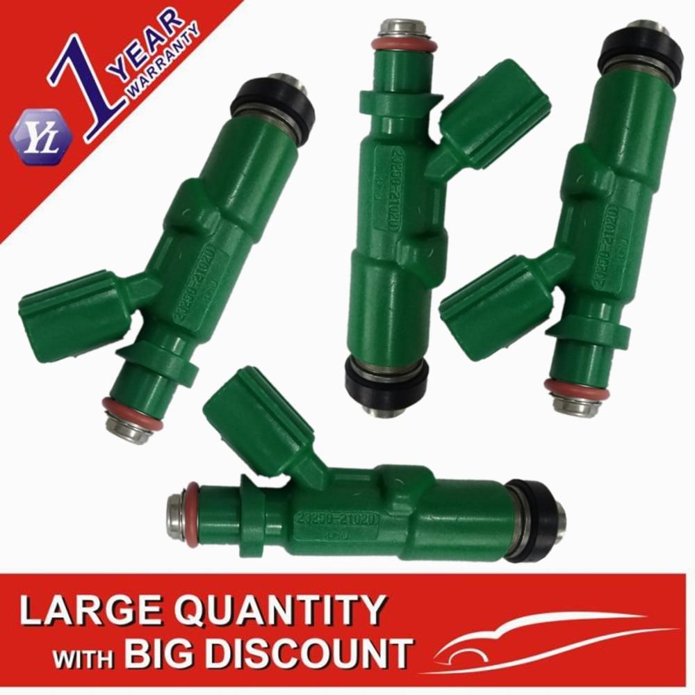 Genuine 2320921020 23250-21020 2325021020 Fuel Injector For T oyota P rius Echo S cion xA xB 1.5L (4PCS)