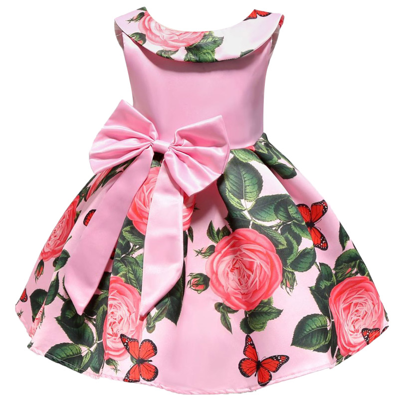 ALI shop ...  ... 32920065740 ... 2 ... 2018 New Summer Girls Birthday Wedding Party Princess Dresses Kids Printing Dress Girl Christmas Prom Dress 2-9 years old ...