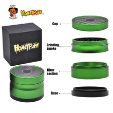 HONEYPUFF 63 MM 4 Layers Tobacco Grinder Ancient Shape Herb