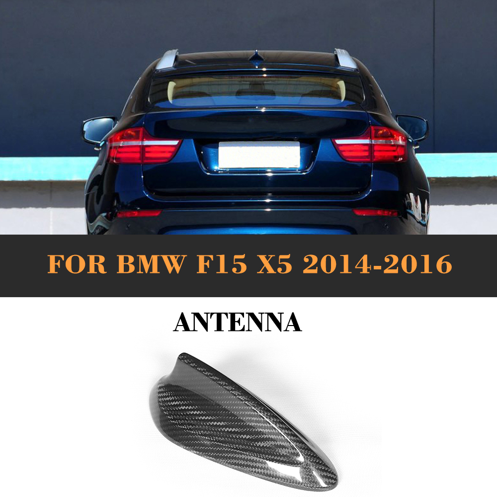 Auto Roof Antenna Aerial Shark Style Carbon Fiber Car Styling for BMW F15 X5 2014 2015 2016