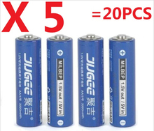 1.5 v AA lifepo4 lithium ionen batteries 20pcs 14500 JUGEE 3000mWh Rechargeable li-ion Li-polymer Li-Po battery apply Toys, etc