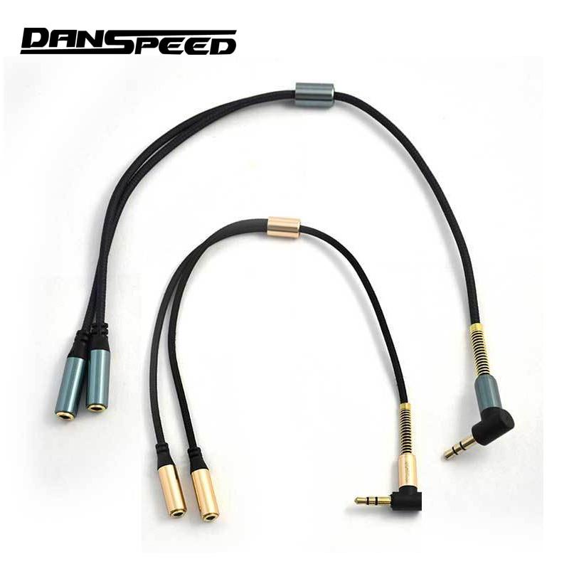 Danspeed 0.98ft 0.3 м 3.5 мм мужчин и женщин удлинитель аудио стерео кабель для автомобилей сотового телефона ПК MP3