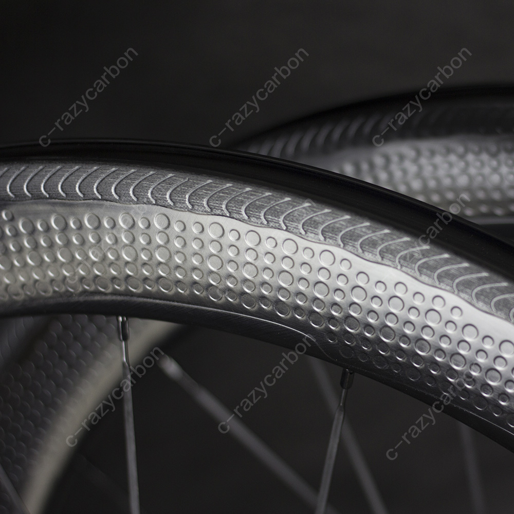 Special Brake Surface Dimple Carbon Aerodynamic Wheels 2 Year Warranty 45/50/58/80 Tubular/Clincher Carbon Wheel 700C Road Bike