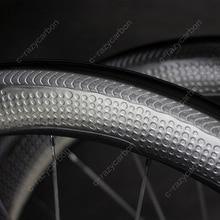 พิเศษพื้นผิวเบรคDimpleคาร์บอนAerodynamicล้อ2ปี45/50/58/80ท่อ/คาร์บอนล้อ700Cแผนที่จักรยาน