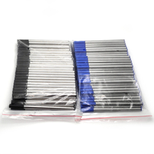 Top cheap student gift supplies good quality pen refills 60pcs a lot black ink and blue 10.7 cm