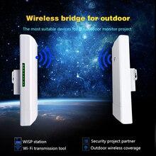Wifi ao ar livre ponte wifi repetidor wi fi extensor suporte wds 5 km sem fio ao ar livre cpe roteador wi fi 300 mbps ponto de acesso ap roteador