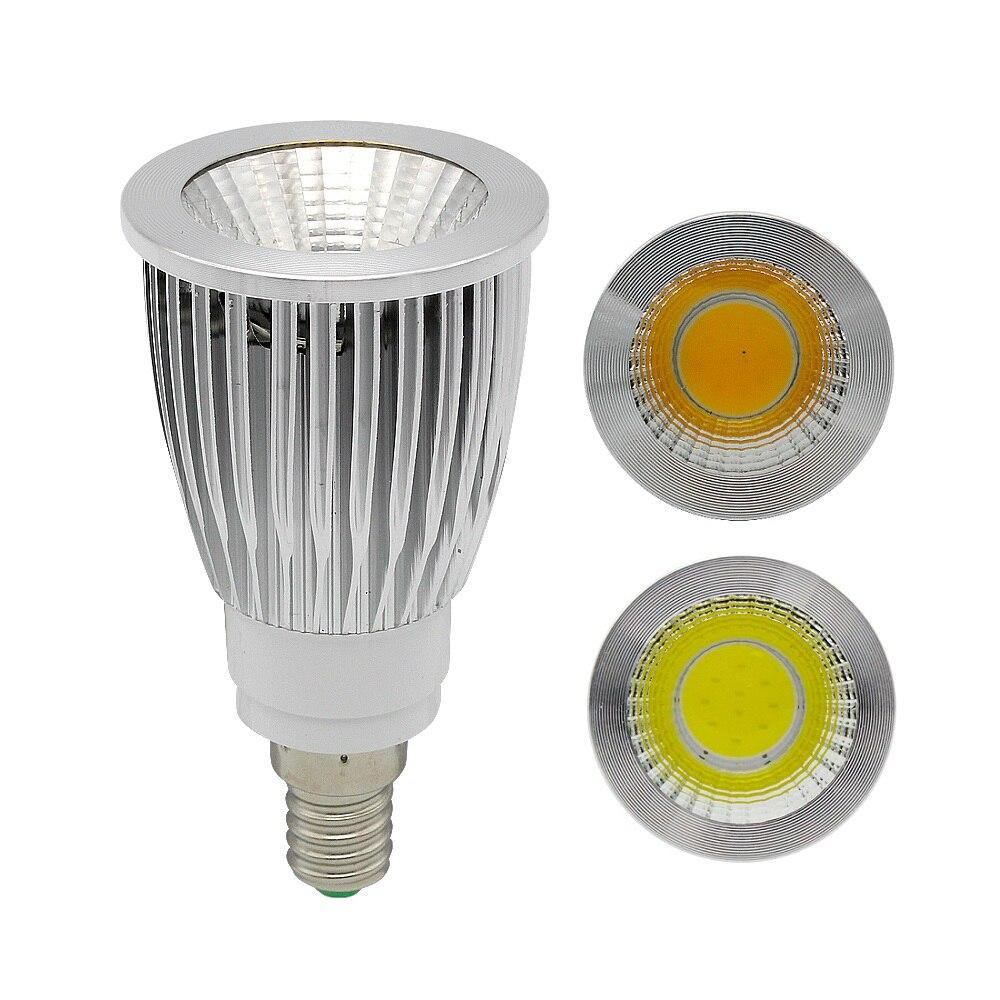 Dimmable LED Spotlight Bulb COB 5W GU10 MR16 E27 E12 E14 Lamps 12V 110V 220V SS