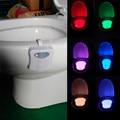 Nova Chegada Segura E Confiável LED Vaso Luzes Sensor De Luz Da Lâmpada 8 Cores Frete Grátis