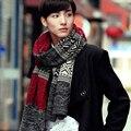 Осень и зима Корейской молодежи толстый теплый дикий длинный абзац студенты вязание шерстяной шарф мужской молодая подарочной коробке
