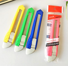 2pcs Stationery Wholesale Color Multi-function Cutter, Paper Cutter, carton opener, tool Cutte
