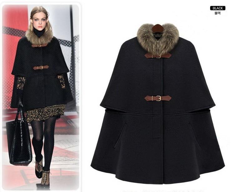 Black cape jacket uk