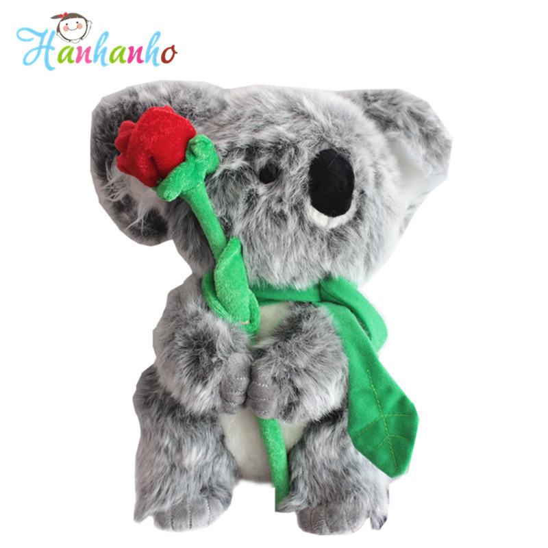 Super Cute Koalas Plush Toy Stuffed Animal Doll Kids Birthday Gift Children Present 30cm