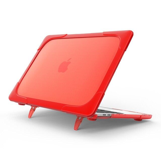 Модные защитный для ноутбука чехол для Macbook Air 11 13 Pro 13 Touch Bar 2017 2016 новые модели Retina 12 13 Вт/Подставки