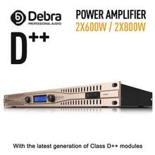 Реальная мощность! Класс D++ модуль профессиональный сценический усилитель мощности усилитель высокой мощности 2x600 Вт/2X800 Вт