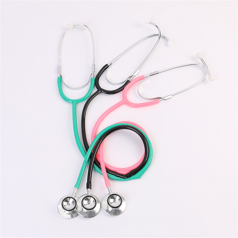 Hot Baby Toy 9 Color Stethoscope Pretend Play Doctor Toys Science Popularization Children DIY Simulation Stethoscopes Doctor Toy