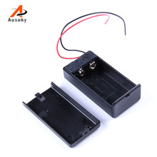 Hot Sale 5PCS 9V Battery Holder Box Case with Wire Lead ON/OFF Switch Cover -29