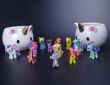 Фотография 3D Ceramic Coffee Unicorn Cup Christmas Xmas Gift Kids Cartton Water Cups Creative Unicorn Milk Funny Mug for Girl Friend