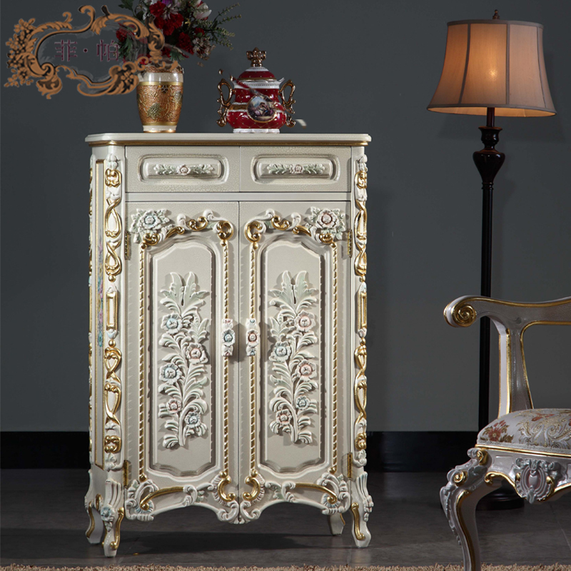 Luxury Classic Home Furniture Baroque Solid Wood Hand Carving Shoe Cabinet In  Shoe Cabinets From Furniture On Aliexpress.com | Alibaba Group Part 4