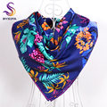100% Silk Twill Scarf Shawl Women 2014 Top Grade Christmas Gift Hot Sale Ladies Mulberry Silk Scarf Printed New design Turban