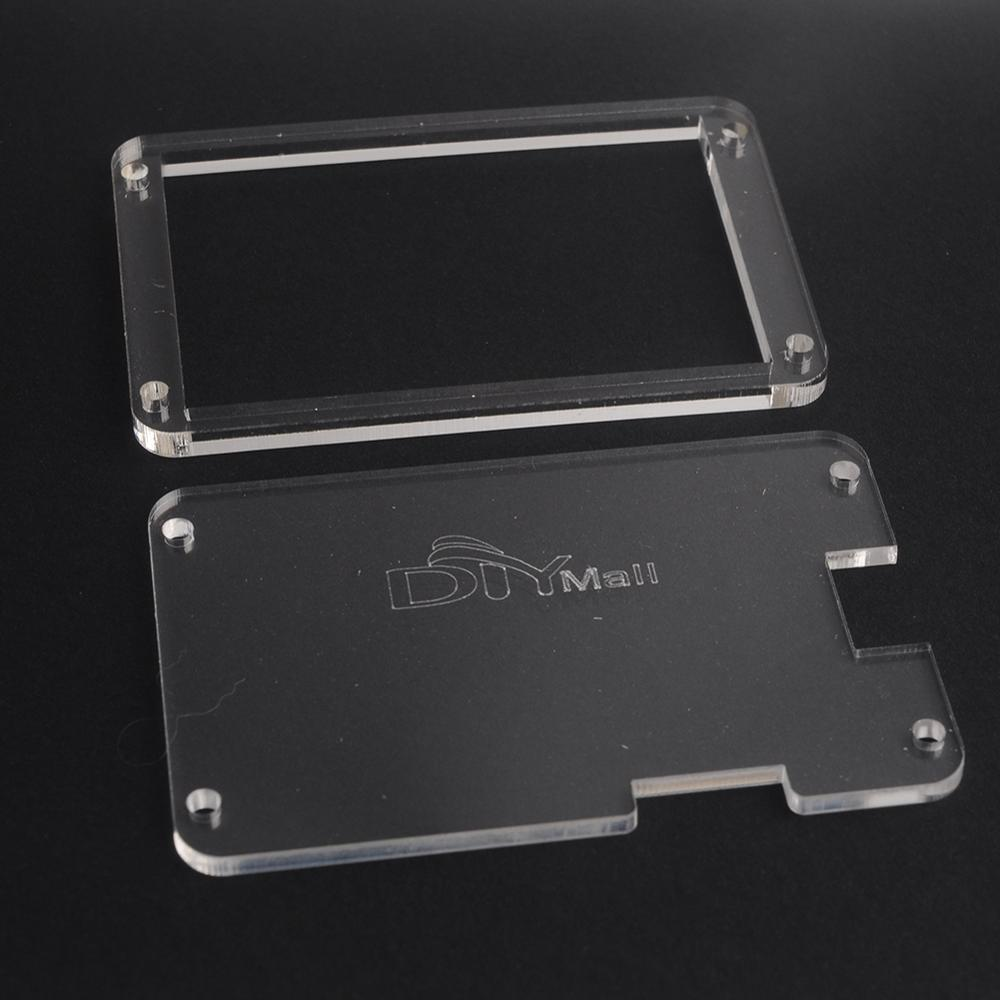 """3.5"""" Acrylic Transparent Clear Case Enclosure For Nextion 3.5 Inch HMI Touch Display LCD Screen Module (Basic Version) FZ1753-C"""